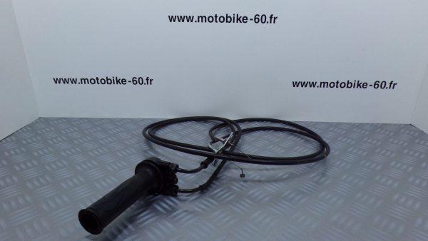 Poignee gaz accelerateur+cable Yamaha Xmax/MBK Skycruiser 125