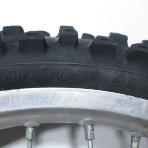 Roue avant 70/100-19 42M KTM SX 85