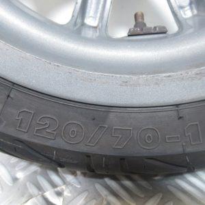 Roue avant 120/70- 12 M/C 51S Piaggio MP3 125 cc