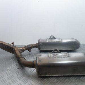 Silencieux arriere Honda CRF 450 R