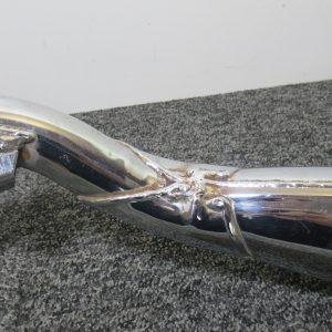 Silencieux échappement gauche HS a reparer Yamaha XJ 600 Diversion 4t ( Vendu dans l'etat )