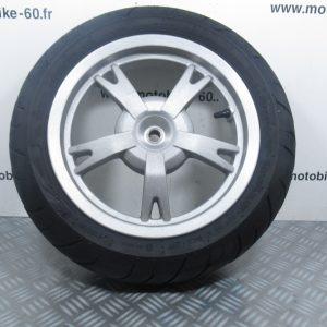 Roue arriere 120/70-12 Peugeot Kisbee 50