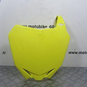 Plaque numero frontale avant (ref: 200000793) Suzuki RMZ 450