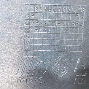 Bas de caisse droit Piaggio X evo 125 (ref:620246)