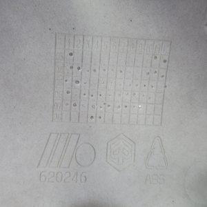 Bas de caisse droit Piaggio X evo 125 cc (ref:620246)