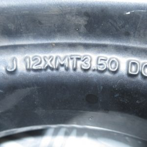 Jante avant J12XMT3.50DOT Yamaha Slider 50