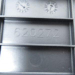 Cache batterie Piaggio X evo 125 c.c