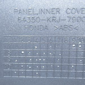 Carenage avant (ref:64350-krj-7900) Honda Swing 12