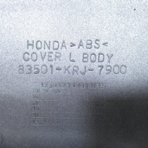 Carenage arriere gauche (ref: 83501-krj-7900) Honda Swing 125