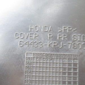 Bas caisse droit (ref: 64433-krj-7900) Honda Swing 125