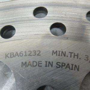 Disque frein arriere Kawasaki KXF 250