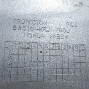 Carenage lateral gauche (ref: 83510-krj-7900) Honda Swing 125