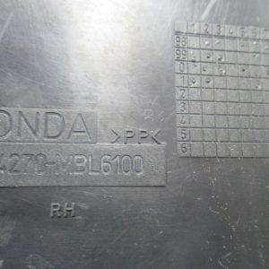 Entourage fourche droit Honda Deauville 650cc 4t