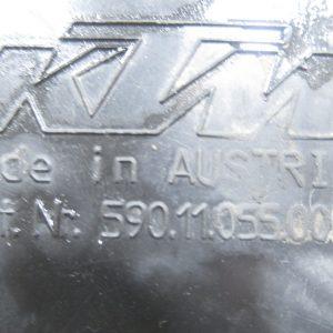 Cache batterie KTM EXC R 400