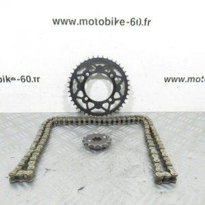 Kit chaine Dirt Bike Pit Bike Lifan 125