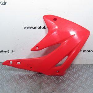 Ouie radiateur plaque laterale gauche Honda CR 85