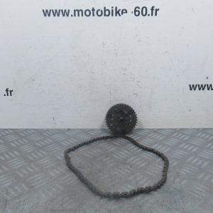 Pignon et chaine transmission Yamaha Xmax/MBK Skycruiser 125